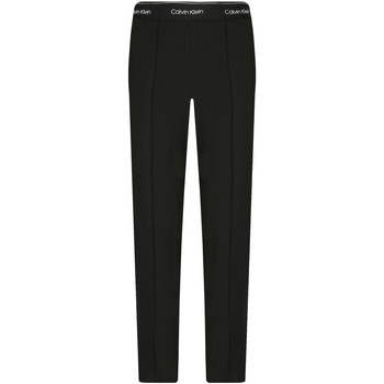Υφασμάτινα Γυναίκα Παντελόνια Chino/Carrot Calvin Klein Jeans K20K201765 Μαύρος
