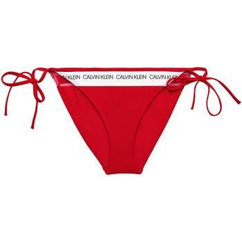 Υφασμάτινα Γυναίκα Μαγιό μόνο το πάνω ή κάτω μέρος Calvin Klein Jeans KW0KW00931 το κόκκινο