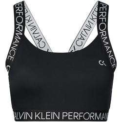 Υφασμάτινα Γυναίκα Αθλητικά μπουστάκια  Calvin Klein Jeans 00GWH9K169 Μαύρος