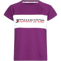 Υφασμάτινα Γυναίκα T-shirt με κοντά μανίκια Tommy Hilfiger S10S100331 Βιολέτα