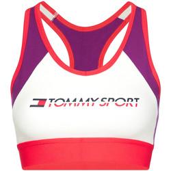 Υφασμάτινα Γυναίκα Αθλητικά μπουστάκια  Tommy Hilfiger S10S100348 Βιολέτα