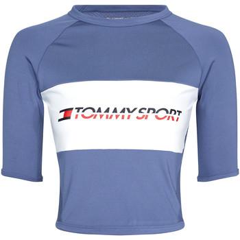 Υφασμάτινα Γυναίκα T-shirt με κοντά μανίκια Tommy Hilfiger S10S100397 Μπλε