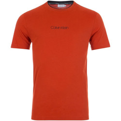Υφασμάτινα Άνδρας T-shirt με κοντά μανίκια Calvin Klein Jeans K10K104934 το κόκκινο