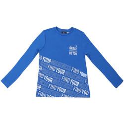 Υφασμάτινα Παιδί Μπλουζάκια με μακριά μανίκια Chicco 09006867000000 Μπλε