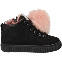 Παπούτσια Παιδί Ψηλά Sneakers Grunland PO1081 Μαύρος