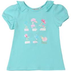 Υφασμάτινα Παιδί T-shirt με κοντά μανίκια Chicco 09006969000000 Μπλε