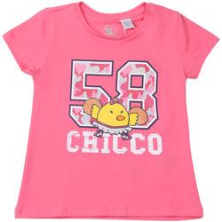 Υφασμάτινα Παιδί T-shirt με κοντά μανίκια Chicco 09006955000000 Ροζ