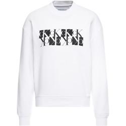 Υφασμάτινα Γυναίκα Φούτερ Calvin Klein Jeans J20J212984 λευκό