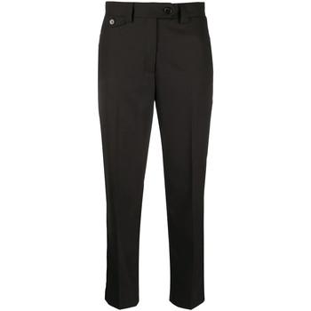 Υφασμάτινα Γυναίκα Παντελόνια Chino/Carrot Calvin Klein Jeans K20K201632 Μαύρος