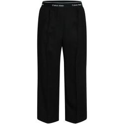 Υφασμάτινα Γυναίκα Παντελόνες / σαλβάρια Calvin Klein Jeans K20K201766 Μαύρος