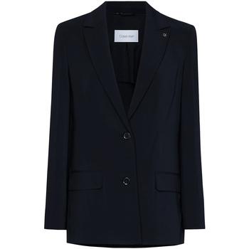 Υφασμάτινα Γυναίκα Σακάκι / Blazers Calvin Klein Jeans K20K201776 Μαύρος