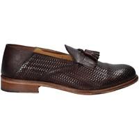 Παπούτσια Άνδρας Μοκασσίνια Exton 3105 καφέ