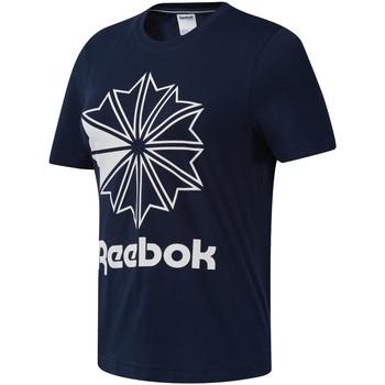 Υφασμάτινα Γυναίκα T-shirt με κοντά μανίκια Reebok Sport DT7222 Μπλε
