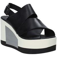 Παπούτσια Γυναίκα Σανδάλια / Πέδιλα Marco Ferretti 660298MF Μαύρος
