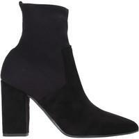 Παπούτσια Γυναίκα Μποτίνια Grace Shoes 140M007 Μαύρος