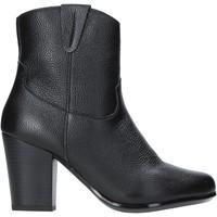 Παπούτσια Γυναίκα Μποτίνια The Flexx E8012_02 Μαύρος