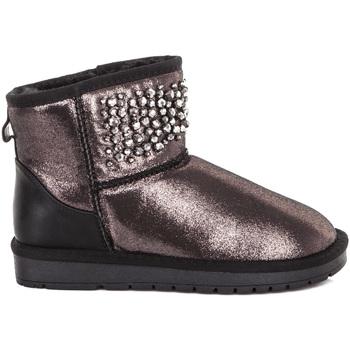 Παπούτσια Γυναίκα Μποτίνια Gold&gold B19 GJ213 Μαύρος