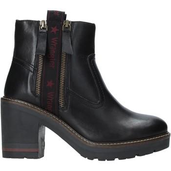 Παπούτσια Γυναίκα Μποτίνια Wrangler WL92602A Μαύρος