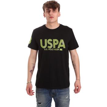 Υφασμάτινα Άνδρας T-shirt με κοντά μανίκια U.S Polo Assn. 57197 49351 Μαύρος