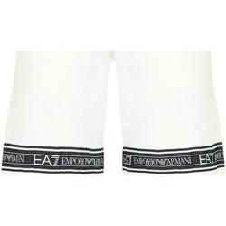 Υφασμάτινα Άνδρας Μαγιώ / shorts για την παραλία Ea7 Emporio Armani 3HPS56 PJ05Z λευκό
