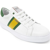 Παπούτσια Άνδρας Χαμηλά Sneakers Exton 861 λευκό
