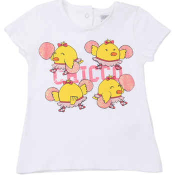 Υφασμάτινα Παιδί T-shirt με κοντά μανίκια Chicco 09006955000000 λευκό