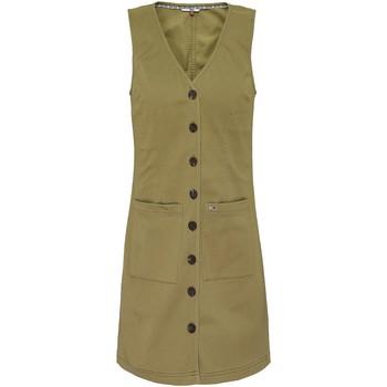 Υφασμάτινα Γυναίκα Κοντά Φορέματα Tommy Jeans DW0DW07750 Πράσινος