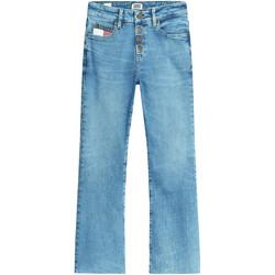 Υφασμάτινα Γυναίκα Τζιν καμπάνα Tommy Jeans DW0DW08134 Μπλε