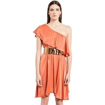 Υφασμάτινα Γυναίκα Κοντά Φορέματα Denny Rose 011ND15020 Πορτοκάλι