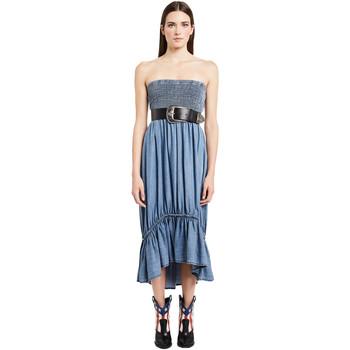 Υφασμάτινα Γυναίκα Μακριά Φορέματα Denny Rose 011ND16002 Μπλε