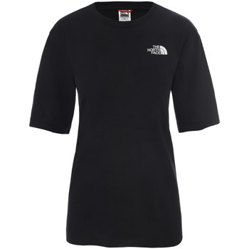 Υφασμάτινα Γυναίκα T-shirt με κοντά μανίκια The North Face NF0A4CESJK31 Μαύρος