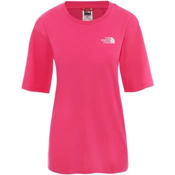 Υφασμάτινα Γυναίκα Κοντά Φορέματα The North Face NF0A4CESWUG1 Ροζ