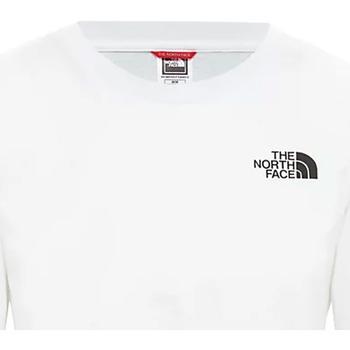 Υφασμάτινα Γυναίκα T-shirt με κοντά μανίκια The North Face NF0A4CESFN41 λευκό