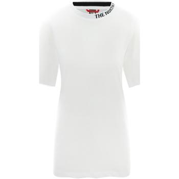 Υφασμάτινα Γυναίκα T-shirt με κοντά μανίκια The North Face NF0A491QFN41 λευκό