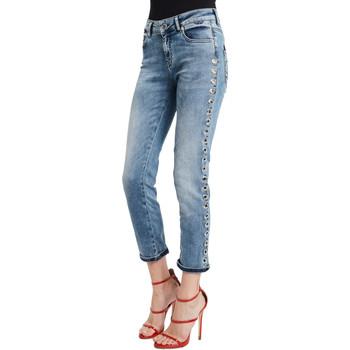 Υφασμάτινα Γυναίκα Skinny Τζιν  Denny Rose 011ND26009 Μπλε