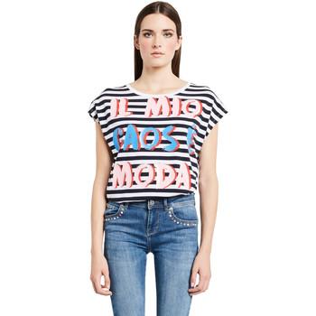 T-shirt με κοντά μανίκια Denny Rose 011ND64017