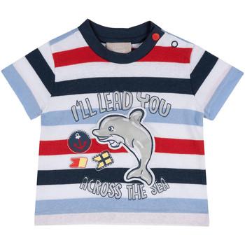Υφασμάτινα Παιδί T-shirt με κοντά μανίκια Chicco 09006876000000 Μπλε