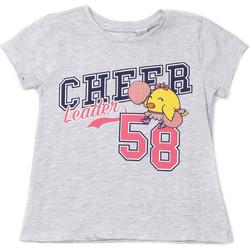 Υφασμάτινα Παιδί T-shirt με κοντά μανίκια Chicco 09006955000000 Γκρί
