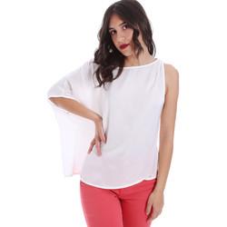 Υφασμάτινα Γυναίκα Μπλούζες Gaudi 011FD45057 λευκό