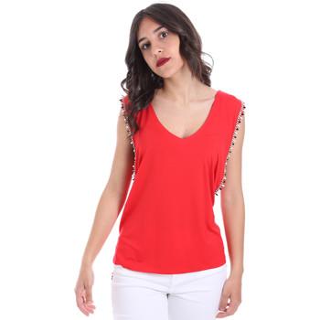 Υφασμάτινα Γυναίκα Μπλούζες Gaudi 011FD64008 το κόκκινο