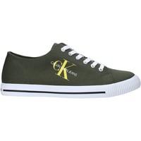 Παπούτσια Άνδρας Χαμηλά Sneakers Calvin Klein Jeans B4S0670 Πράσινος