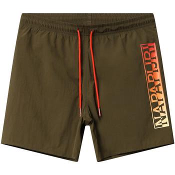 Υφασμάτινα Άνδρας Μαγιώ / shorts για την παραλία Napapijri NP0A4E1J Πράσινος