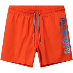 Υφασμάτινα Άνδρας Μαγιώ / shorts για την παραλία Napapijri NP0A4E1J Πορτοκάλι