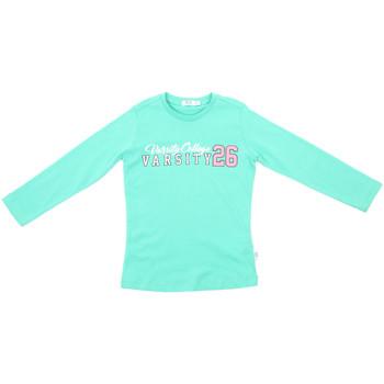 Υφασμάτινα Παιδί Μπλουζάκια με μακριά μανίκια Melby 70C5615 Πράσινος