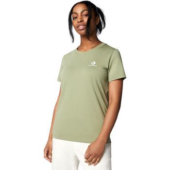 T-shirt με κοντά μανίκια Converse 10018270-A15