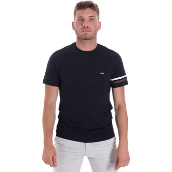 Υφασμάτινα Άνδρας T-shirt με κοντά μανίκια Les Copains 9U9014 Μπλε