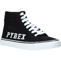 Παπούτσια Γυναίκα Ψηλά Sneakers Pyrex PY020226 Μαύρος