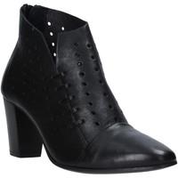 Παπούτσια Γυναίκα Μποτίνια Mally 6878 Μαύρος