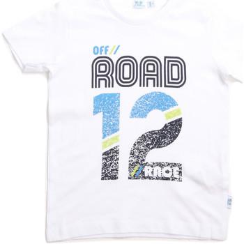 Υφασμάτινα Παιδί T-shirt με κοντά μανίκια Melby 70E5544 λευκό