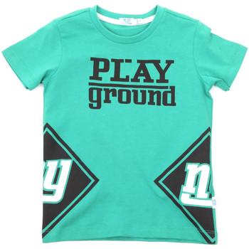 Υφασμάτινα Παιδί T-shirt με κοντά μανίκια Melby 70E5544 Πράσινος